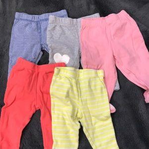 5 piece carters pants